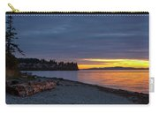 Sunset At Birch Bay State Park Carry-all Pouch