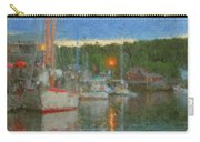 Sunset At Boothbay Harbor Maine Carry-all Pouch