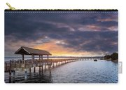 Sunset At Boulevard Park In Bellingham Washington Carry-all Pouch