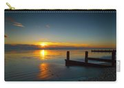 Sunset At Brackesham Bay ,west Sussex ,england  Carry-all Pouch