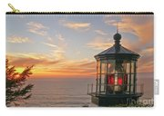 Sunset At Cape Meares Carry-all Pouch