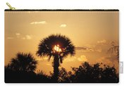Sunset At Clearwater Beach Carry-all Pouch