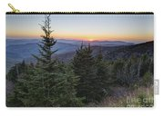 Sunset At Clingmans Dome Carry-all Pouch
