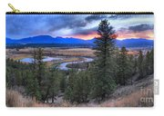 Sunset At Columbia Wetlands Carry-all Pouch