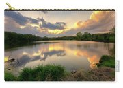 Sunset At Community Lake #8 Carry-all Pouch