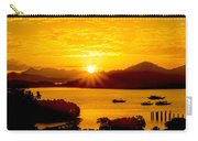 Sunset At Coron Bay Carry-all Pouch