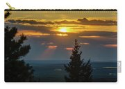 Sunset At Cypress #3 Carry-all Pouch