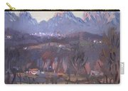 Sunset At Dolomites Belluno Carry-all Pouch