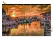 Sunset At Fisherman's Cove Carry-all Pouch