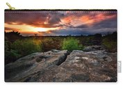 Sunset At Fontainebleau Carry-all Pouch
