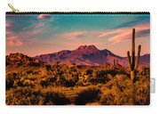 Sunset At Four Peaks Carry-all Pouch