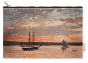 Sunset At Gloucester Carry-all Pouch
