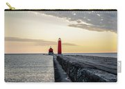 Sunset At Grand Haven Carry-all Pouch