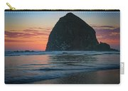 Sunset At Haystack Rock Carry-all Pouch