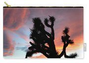 Sunset At Joshua Tree 2 Carry-all Pouch