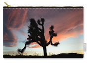 Sunset At Joshua Tree Carry-all Pouch