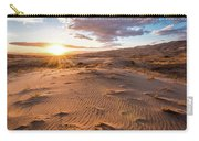 Sunset At Kelso Dunes Carry-all Pouch