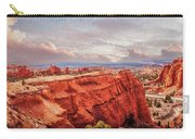 Sunset At Kodachrome Basin State Park Panorama Carry-all Pouch