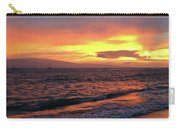 Sunset At Lahaina On Maui, Hawaii Carry-all Pouch