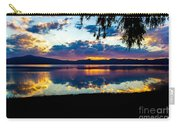 Agency Lake Sunset, Oregon Carry-all Pouch