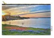 Sunset At Lake Buchanan Carry-all Pouch