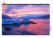 Sunset At Lake Mcdonald Carry-all Pouch