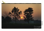 Sunset At Lumbini Carry-all Pouch