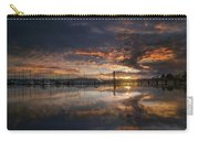 Sunset At Marina In Anacortes In Washington Carry-all Pouch