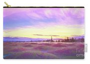 Sunset At Mima Mounds Carry-all Pouch