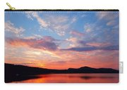 Sunset At Ministers Island Carry-all Pouch