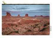 Sunset At Monument Valley No.2 Carry-all Pouch