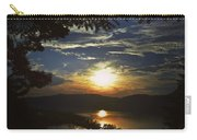 Sunset At Multnomah Falls Carry-all Pouch