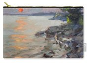 Sunset At Niagara River Carry-all Pouch