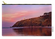 Sunset At North Head Lighthouse Carry-all Pouch