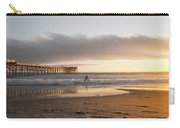Sunset At Pacific Beach Pier - Crystal Pier - Mission Bay, San Diego, California Carry-all Pouch