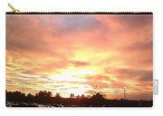 Sunset At Parking Lot Carry-all Pouch