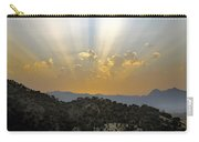 Sunset At Pastelero Near Villanueva De La Concepcion Andalucia Spain Carry-all Pouch