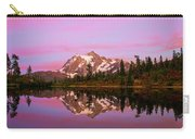 Sunset At Picture Lake Carry-all Pouch