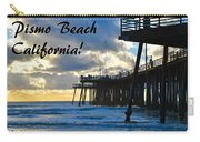 Sunset At Pismo Beach California Carry-all Pouch