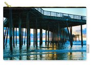 Sunset At Pismo Beach Pier Carry-all Pouch