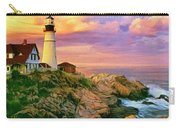 Sunset At Portland Head Carry-all Pouch