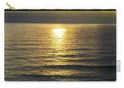 Sunset At Praia Pequena, Small Beach In Sintra Portugal Carry-all Pouch