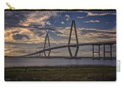 Sunset At Ravenel Bridge Carry-all Pouch
