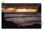 Sunset At Ruby Beach Carry-all Pouch