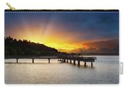 Sunset At Ruston Way Waterfront In Tacoma Carry-all Pouch