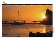 Sunset At Sarasota Bayfront Park Carry-all Pouch