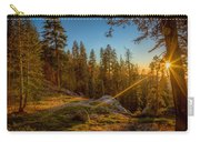 Sunset At Sequoia Carry-all Pouch