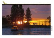 Sunset At Sunset Beach In Vancouver Bc Carry-all Pouch