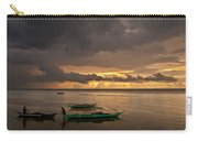 Sunset At Tabuena Beach 1 Carry-all Pouch