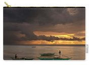 Sunset At Tabuena Beach 2 Carry-all Pouch